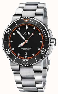 Oris Aquis Date Automatic Stainless Steel Black Dial 01 733 7653 4128-07-8-26-01PEB