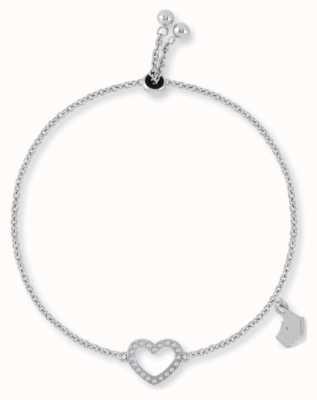 Radley Jewellery Silver Heart Friendship Bracelet RYJ3029