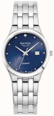 Bruno Sohnle Womens Florenz | Blue Dial | Stainless Steel Bracelet 17-13197-352
