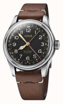 Oris Movember Edition 2018 | Brown Leather Strap 01 754 7741 4037-SET LS