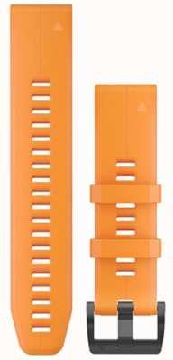 Garmin Orange Rubber Strap QuickFit 22mm Fenix 5 / Instinct 010-12740-04