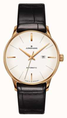 Junghans Meister Damen Automatic | Genuine Alligator Strap 027/7845.00