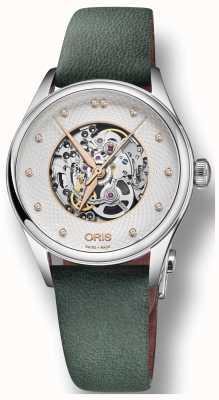 Oris Artelier Skeleton 33mm Mens Watch 01 560 7724 4031-07 5 17 35FC