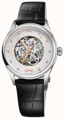 Oris Artelier Skeleton 33mm Mens Watch 01 560 7724 4031-07 5 17 64FC