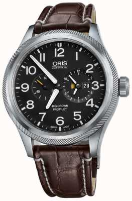 Oris Big Crown ProPilot Worldtimer Mens Watch 01 690 7735 4164-07 1 22 72FC