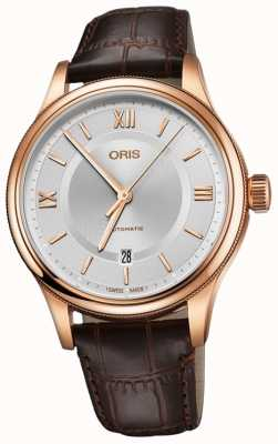 Oris Classic Date 42mm Mens Watch 01 733 7719 4871-07 6 20 32