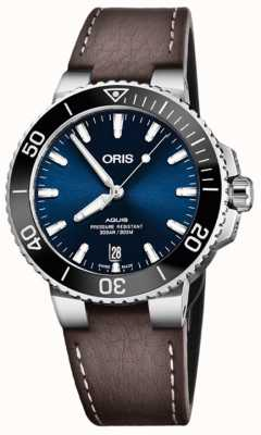 Oris Aquis Date 39.5mm Mens Watch 01 733 7732 4135-07 5 21 10FC