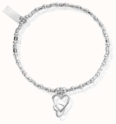 ChloBo Women's | Interlocking Love Heart | Bracelet SBCFB572
