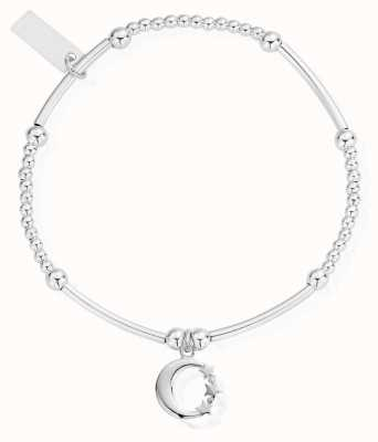 ChloBo Womens | Cute Moon And Stars | Bracelet SBCM580