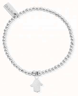 ChloBo Womens | Cute Charm Decorated Hamsa Hand | Bracelet SBCC607