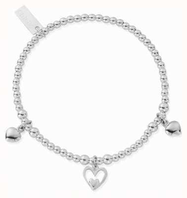 ChloBo Women's | Triple Heart | Bracelet SBSB7321101