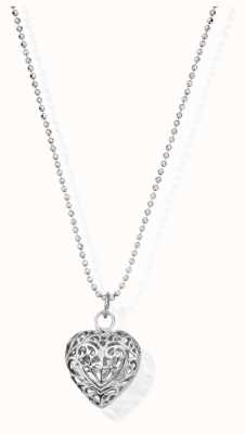 ChloBo Diamond Cut Chain | With Filigree Heart | Pendant | Approx 65 cm SCDC1050