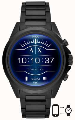 Armani Exchange Drexler Black | Stainless Steel | Smartwatch AXT2002