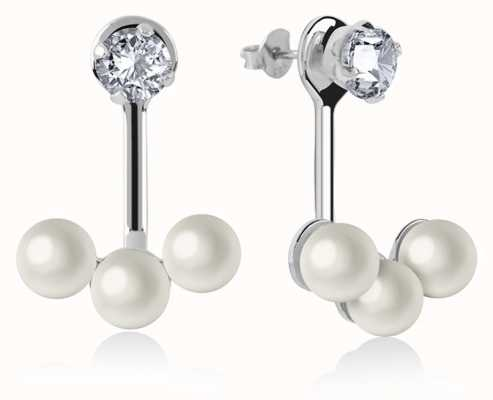 Radley Jewellery | Womens | Silver Triple Pearl | Earrings | RYJ1043