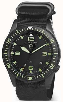 Elliot Brown | Mens | Holton Professional | Black Webbing | 101-001-N02