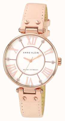 Anne Klein | Womens Signature Watch | Nude Leather | 10-N9918RGLP
