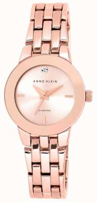Anne Klein | Womens Agnes Watch | Rose Gold Bracelet | AK-N1930RGRG