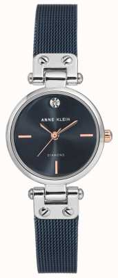 Anne Klein | Womens Cable Watch | Navy Tone | AK-N3003BLRT