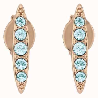 Adore By Swarovski Pavé Navette Stud Earrings Rose Gold Plated 5419396