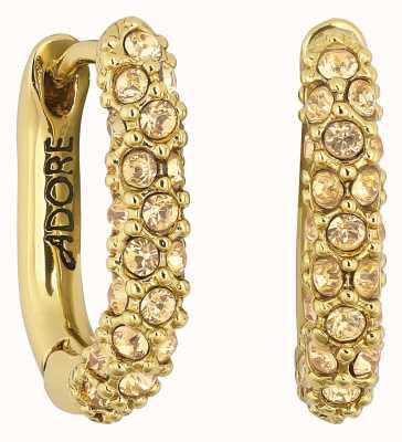 Adore By Swarovski Lozenge Pavé Earrings Gold Plated 5448756