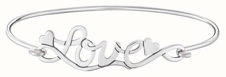 Chamilia   Love Script Bangle   Bright Sterling Silver   1010-0493