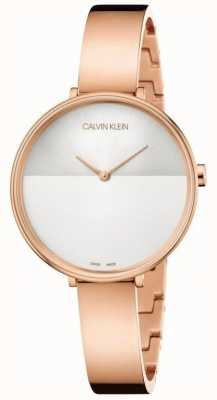 Calvin Klein | Womens Rise Extension | Rose Gold Bracelet | Two Tone Dial K7A23646