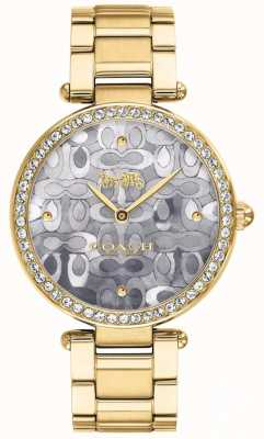 Coach   Womens Park Watch   Two Tone Silver And Gold   14503222