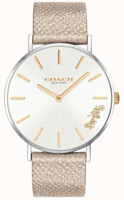 Coach | Womens Perry Watch | Cream Strap | 14503157
