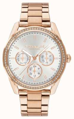 Coach | Preston Watch | Chronograph Rose Gold Stainless Steel | 14503267