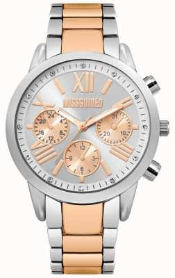 Missguided   Ladies Watch   Two-Tone Stainless Steel Bracelet   MG008SRM