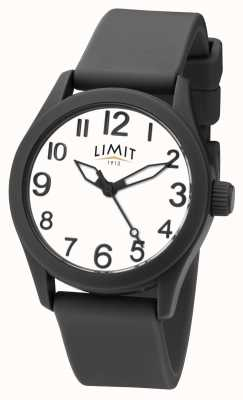 Limit | Black Silicone Strap | White Dial | 5720
