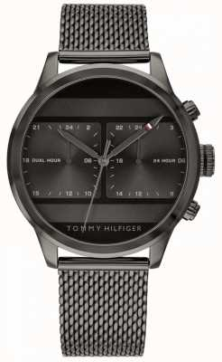 Tommy Hilfiger | Mens Black Mesh Watch | 1791597