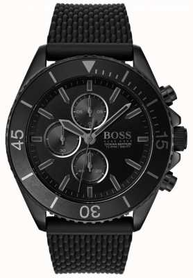 Hugo Boss | Mens Ocean Edition | Black Dial | Black Strap | 1513699