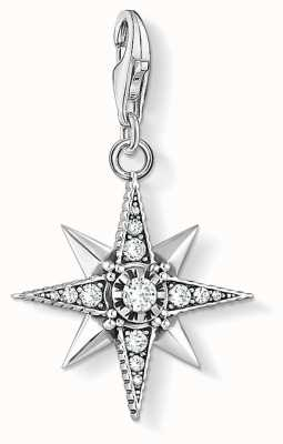 Thomas Sabo | Royalty Star | Blackened Sterling Silver | Zirconia | 1756-643-14