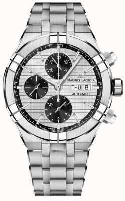 Maurice Lacroix Aikon Automatic Chronograph Stainless Steel Bracelet AI6038-SS002-132-1