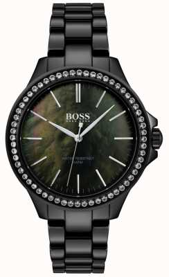 Hugo Boss | Ladies Black Stainless Steel Watch | 1502456