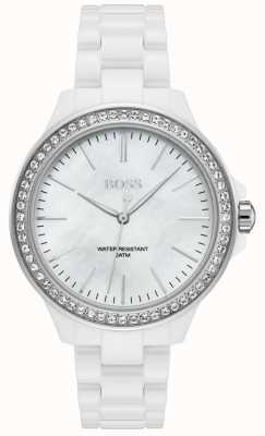 Hugo Boss | Ladies White Bracelet | White Dial | 1502454