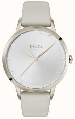 Boss | Ladies White Leather Strap | White Dial | 1502461