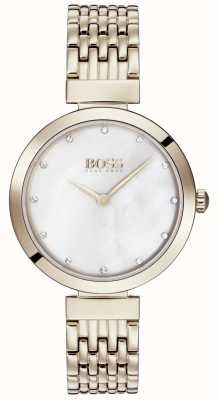 Boss | Ladies Pale Rose Gold Metal Bracelet | 1502480
