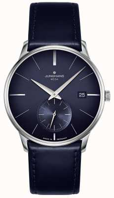 Junghans Meister MEGA Small Second | Blue Leather Strap | 058/4901.00