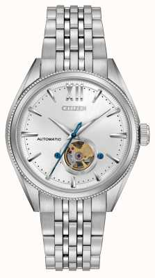 Citizen   Mens Signature Grand Classic Automatic   Stainless Steel NB4000-51A