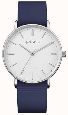 Jack Wills | Ladies Sandhill Blue Silicon Strap | JW018WHNV