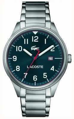 Lacoste | Mens Continental | Stainless Steel Bracelet | Blue Dial | 2011022