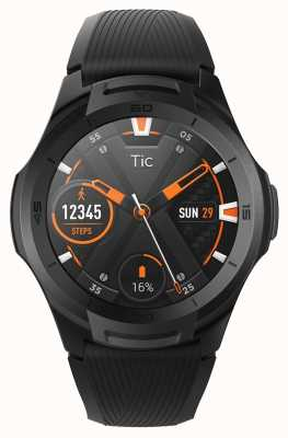 TicWatch S2 | Midnight Smartwatch | Black Silicone Strap 131585-WG12016-BLK