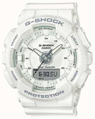 Casio | Womens Resin G-shock | White Strap | GMA-S130-7AER