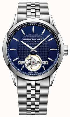 Raymond Weil Men's Freelancer Automatic Blue Dial Stainless Steel 2780-ST-50001