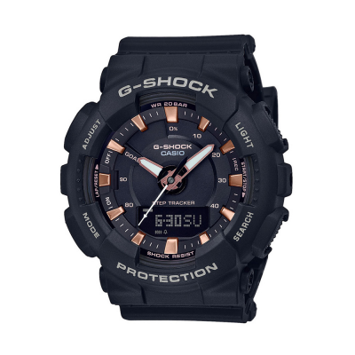 Casio G-Shock Step Tracker Black Resign Strap GMA-S130PA-1AER