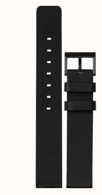 Leff Amsterdam | Black Leather Strap | Black Buckle | LT74012-STRAP