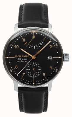 Iron Annie Bauhaus | Automatic | Power Reserve | Black | 5066-2