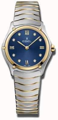 EBEL Womens Sport Classic | Blue Dial | Stainless Steel Bracelet 1216446A
